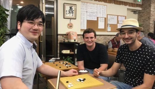 【囲碁】ヨーロッパから2名のお客様がご来店!